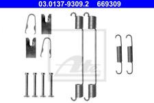 Zubehörsatz, Bremsbacken für Bremsanlage Hinterachse ATE 03.0137-9309.2