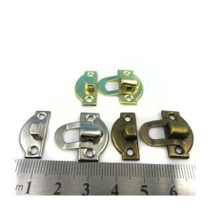 x4 x SMALL TOGGLE LATCH CATCH CLOSE 22mm x 21mm CASE BRIEFCASE CIGAR BOX CLOSURE