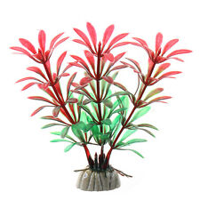 Künstlich Aquarium Grün Kunstpflanze Silikon-Koralle Ornament Aquarium Deko