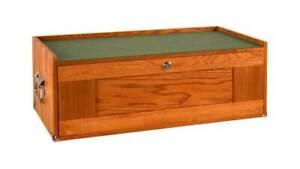 GI-M24 3 Drawer Oak/Veneer/Plywood Tool Chest Base by Gerstner International