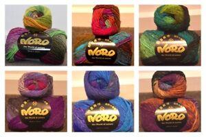 """Noro 50g """"Kureyon"""" 100% Wool 10-Ply Yarn"""