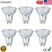 6Pack 5W (50W equivalent) GU10 LED Light Bulbs 500Lumen 6000K Daylight Spotlight