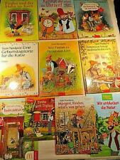 Pettersson und Findus - 10 Kinderbücher Weihnachtsbesuch Feuerwerk Hahn Uhrzeit