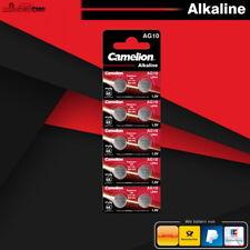 Camelion AG10 Knopfzelle Batterie V10GA LR1130 LR54 L1131 189 RW89 MHD 12.2024