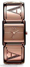 Armani Exchange Ladies Watch Brown Dial Stainless Steel Bracelet AX3120