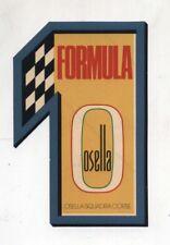 Adesivo OSELLA SQUADRA CORSE FORMULA 1 F1 Formule sticker anni 80 - 18 cm