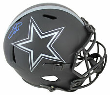 Cowboys Emmitt Smith Authentic Signed Eclipse Full Size Speed Rep Helmet BAS