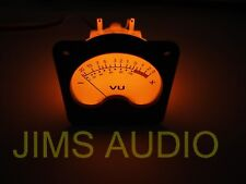 VU meter huge size + warm back light for recording !