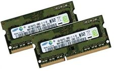 2x 4gb 8gb ddr3 RAM 1600 MHz Apple MacBook Pro Mid 2012 tan DIMM pc3-12800s
