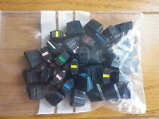 a set of 34 slider caps for arp odyssey remanufactured