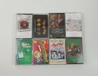 Christmas Music Cassette Lot of 8 Titles SEE DESCRIPTION FOR TITLES
