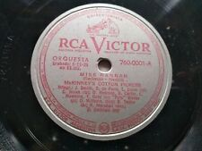 MCKINNEY'S COTTON PICKERS Silver Victor 760-0001 (V-38102) 78 MISS HANNAH EX