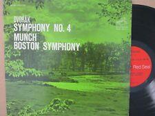RCA STEREO- LSC 2629- DVORAK Symphony No.4 MUNCH Boston LP (USA Vinyl VG+)