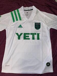 Austin FC Small Away Jersey adidas MLS Yeti NWT