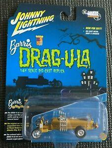 JOHNNY LIGHTNING - Movie TV Diecast Car - The MUNSTERS DRAGULA - 1:64 DRAGU-U-LA