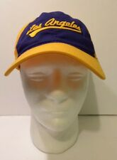 Adidas NBA Los Angeles Lakers Purple Yellow Cap One Size Fits All Adjustable
