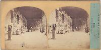 Italia Pisa Campo Santo Po' di Tempo E Tournier Foto - Vintage Albumina Ca 1860