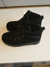 Fila Grunge Black Boots Trainers Size 5