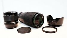 Olympus PEN OM Panasonic LUMIX Micro 4/3 DSLR fit HANIMEX 200mm 400mm ZOOM lens