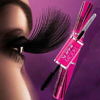 Makeup Eye Lash Extension Eyelash Long Curling Black Thickness Mascara+4D Fiber~