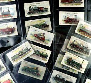 Locomotive Engines and Rolling Stock Cigarette Cards by Wills1901 Pick Your Card