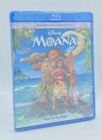 Moana  [2017]  Blu-ray+DVD+Digital HD; 2-Disc Set  💯Authentic Disney