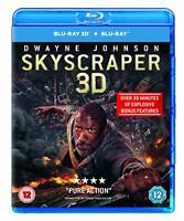 Skyscraper (3D Blu-ray + Blu-ray) [2018] [Region Free] [DVD][Region 2]