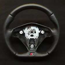 FLAT BOTTOM STEERING WHEEL AUDI URS4  ! THICKER VERSION ! R8 STYLE