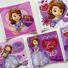 smilemakers Disney Princess Sofia the First Large Square Stickers 15 sheets