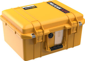 Yellow Pelican 1507 Air case no foam - empty.
