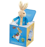 Peter Rabbit Jack in the Box Beatrix Potter Toy Shower Baby Gift  FAST DISPATCH!