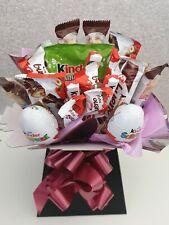 Kinder Bueno Chocolate Bouquet Hamper Birthday Wedding Eid Gift With Message