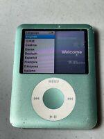 Apple iPod Nano 3rd Generation 8 GB Very Nice. works well