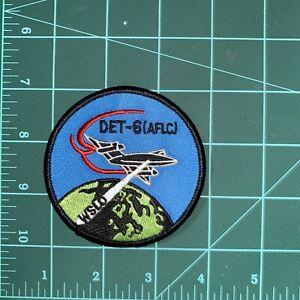 Det-6 WSLO USAF Patch SR-71 80'-90'