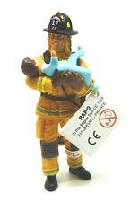 1714) PAPO ( 70009) AMÉRICAIN Pompier avec bébé pompier