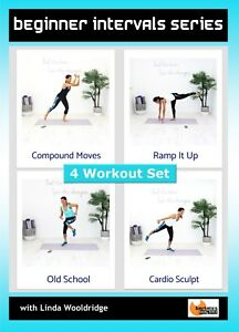 Beginner Exercise DVD Barlates Body Blitz BEGINNER INTERVALS SERIES - 4 Workouts