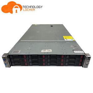 HP DL380p G8 Server 2x CPU E5-2680@2.70GHz 128GB RAM 12x 300GB SAS P420i Array