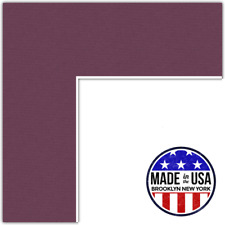 ArtToFrames Custom Red Ruby Picture Photo Frame Mat Matting Board Lg