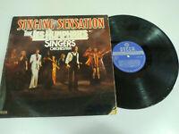 """The Les Humphries Singers Orchestra Singing Sensation - LP vinyl 12 """" VG/VG 3T"""