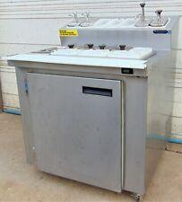 Ice Cream Freezer Dipping Cabinet- Wasserstrom CBR D671-09-22
