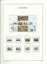 CANADA 2011 - LIGHTHOUSE page 2011.16 - BABY ANIMALS M/sheet & Singles - MNH