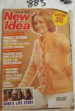 NEW IDEA 1977 MARCH 12,JESSICA LANGE KING KONG COVER,ABBA'S LIFE STORY