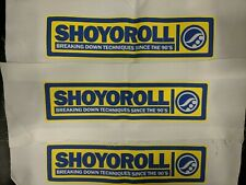 Shoyoroll OG Patches ***Brand New***