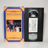Woody Herman Remembered Video Tribute VHS Tape FREE SHIPPING