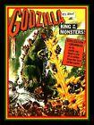 "4"" GODZILLA King of Monsters vinyl sticker. Classic movie monster decal 4 laptop"