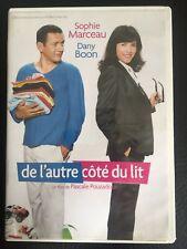 DVD DE L'AUTRE CÔTÉ DU LIT - Dany BOON  Sophie MARCEAU
