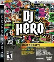 Dj Hero  - Sony Playstation 3 Game