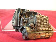VTG 1977 Bergamont Brass Works Semi 18 Wheeler Peterbilt Mack Belt Buckle