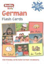 Berlitz Language: German Flash Cards by Berlitz (English) Free Shipping!