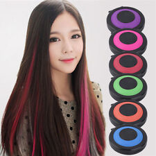 6pcs Hair Chalk Colouring Dye Compact Temporary Infinite Charm Highlight Ombre